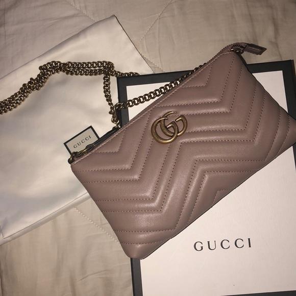 7d8719ee150 Gucci GG Marmont mini chain bag